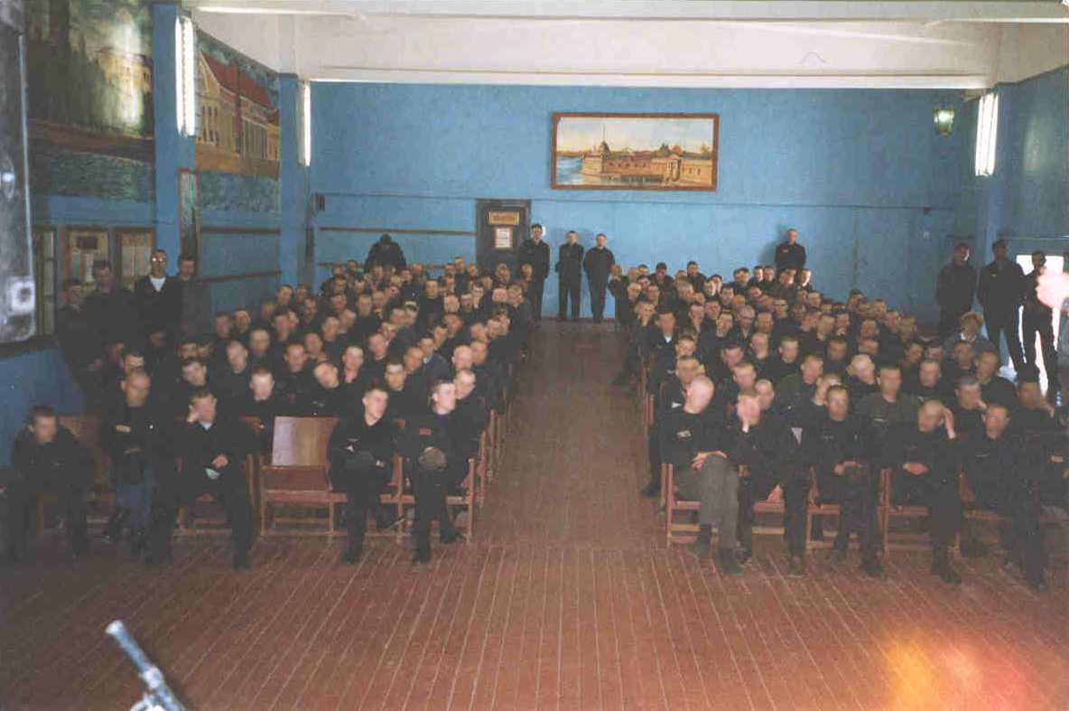 Prison concert in Russia