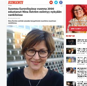 Iltalehti 13.3.1016 - Nina Åströmin haastattelu
